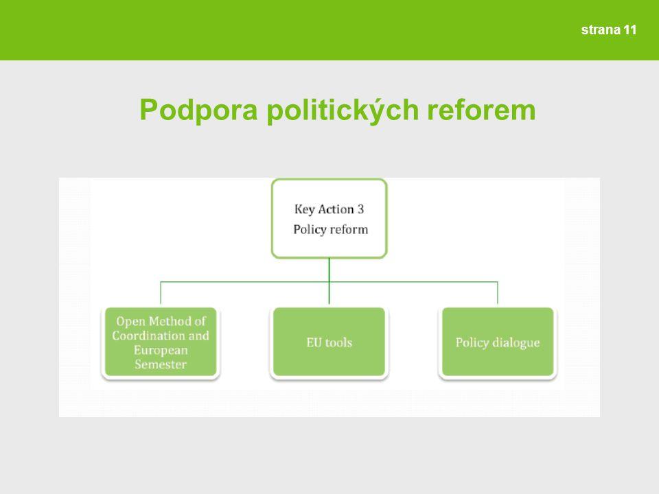 Podpora politických reforem strana 11