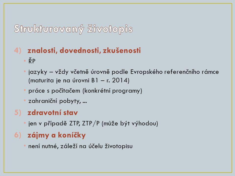 7)datum a místo vyhotoven í např.Jihlava 3. března 2014 8)vlastnoruční podpis nezapomenout.