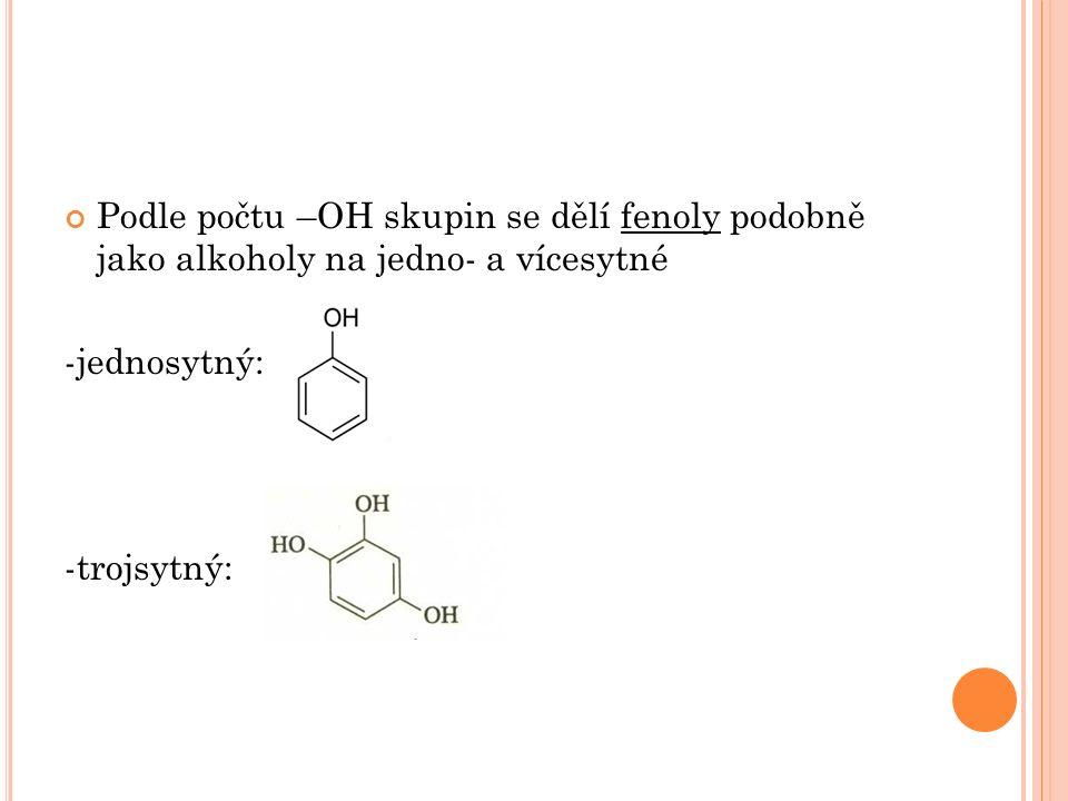 PŘÍPRAVA HYDROXYDERIVÁTŮ Příprava alkoholů: - Z přírodních látek – př.