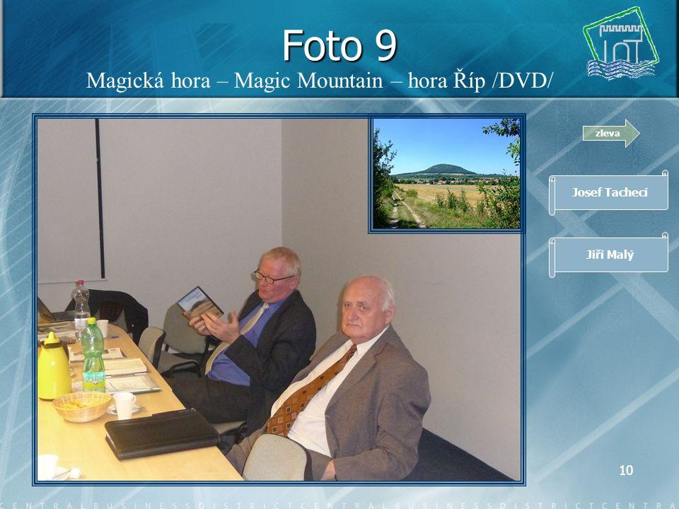 9 Foto 8 zleva Josef Tachecí Jiří Malý Josef Miškovský, zástupce společnosti SPF Group, v.o.s.