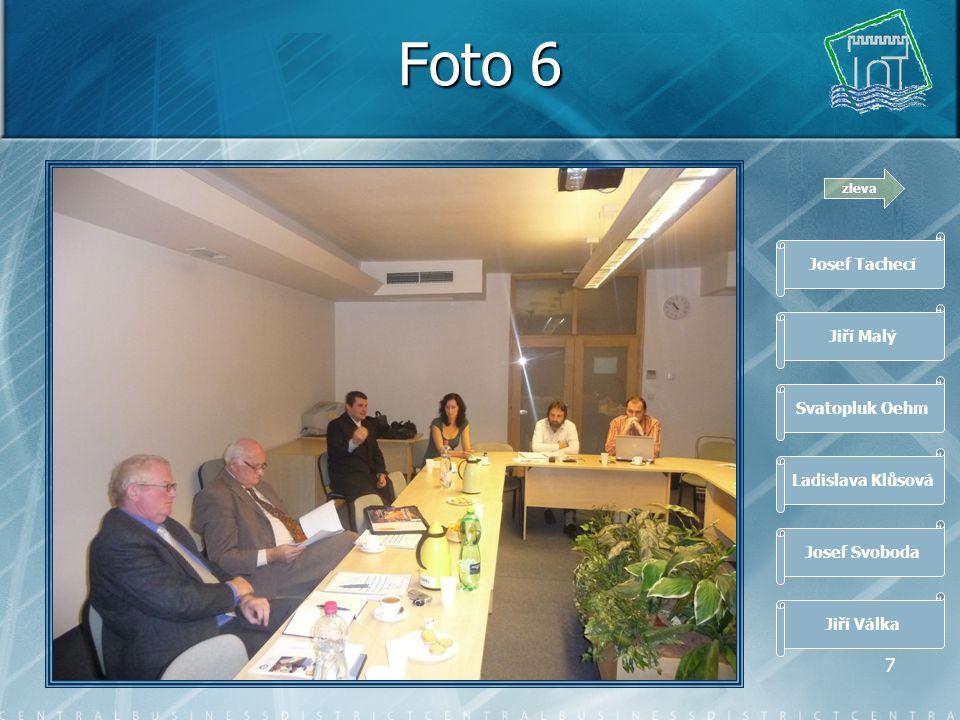 6 Foto 5 zleva Josef Tachecí Jiří Malý