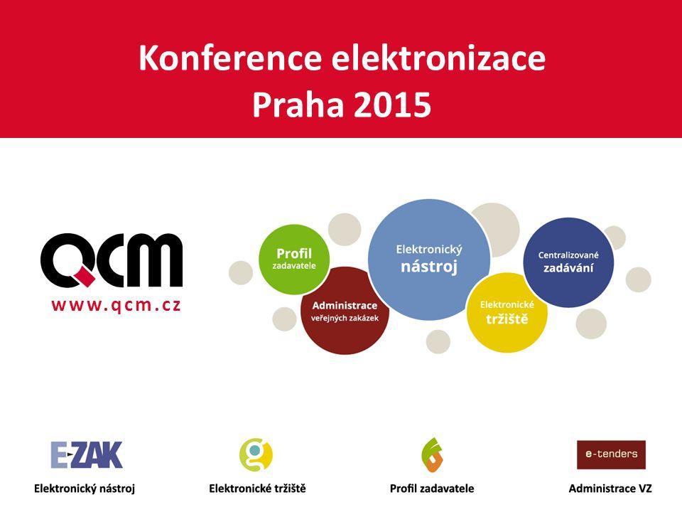 www.qcm.cz Konference elektronizace Praha 2015