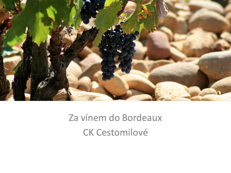 Za vínem do Bordeaux CK Cestomilové
