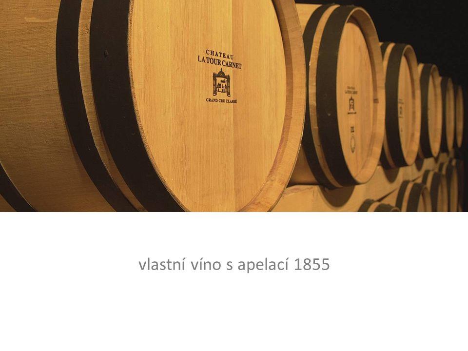 vlastní víno s apelací 1855