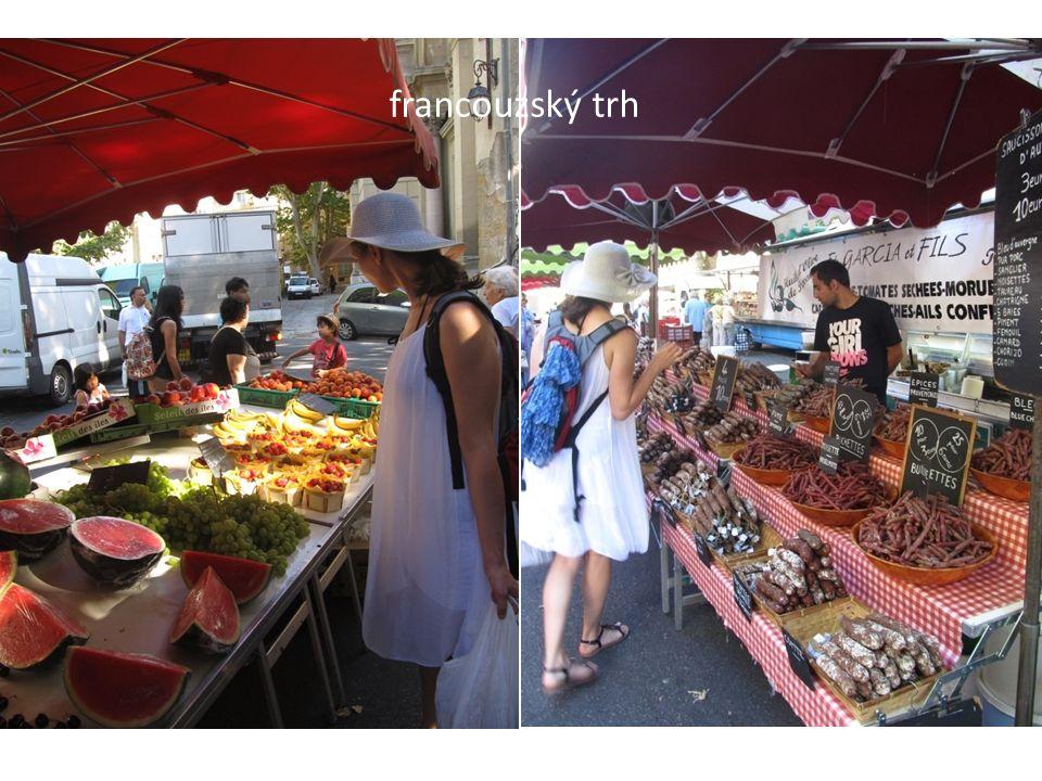 francouzský trh