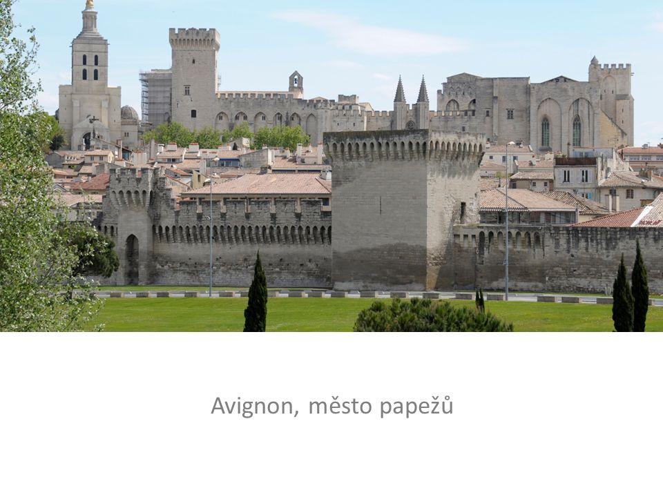 Avignon, město papežů