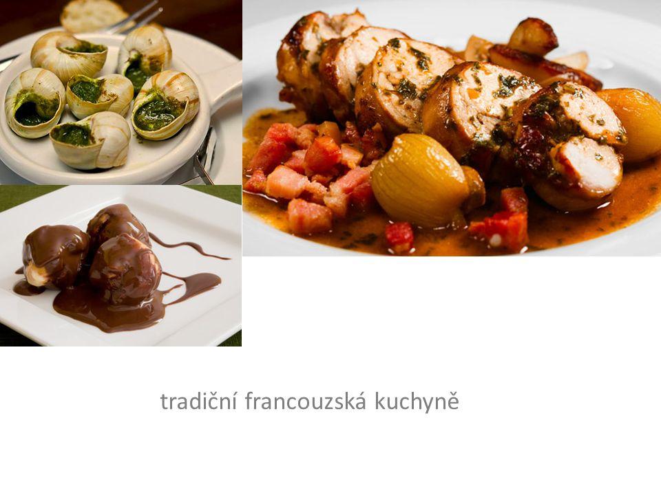 tradiční francouzská kuchyně