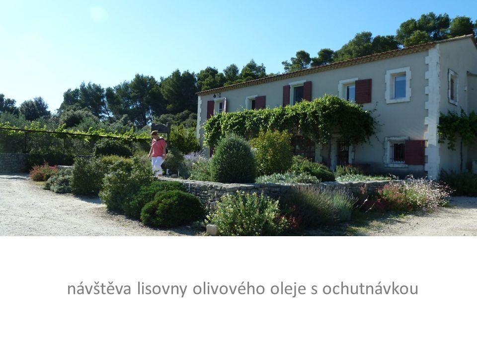 návštěva lisovny olivového oleje s ochutnávkou