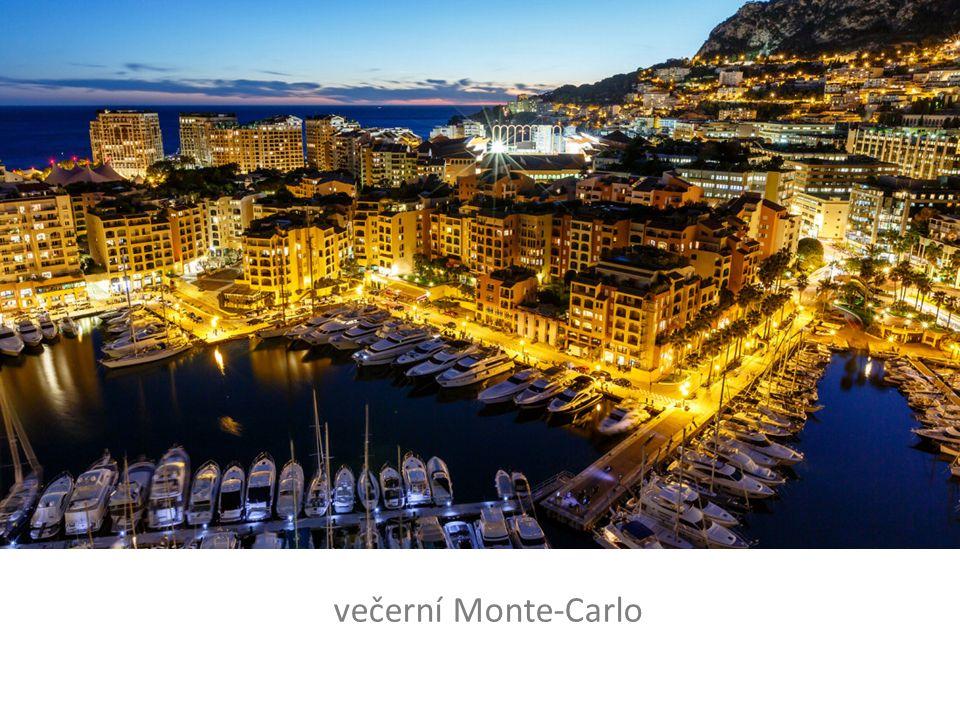 večerní Monte-Carlo