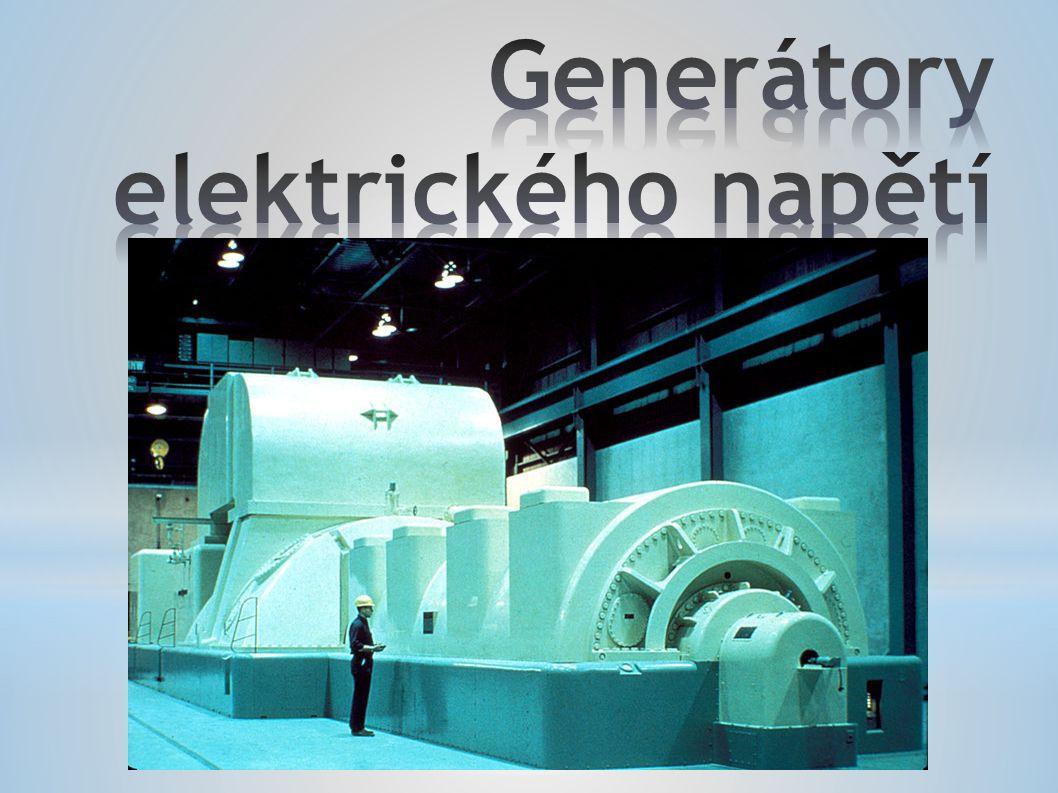 Elektrický generátor je elektrický stroj, sloužící k přeměně mechanické energie na energii elektrickou.