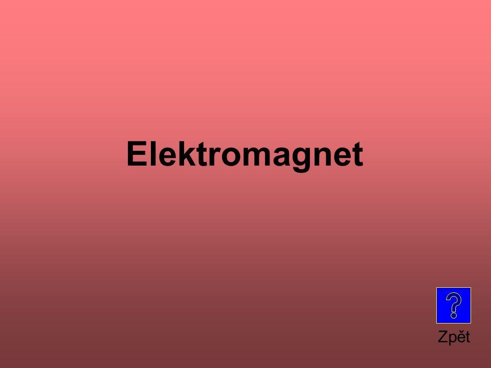 Zpět Elektromagnet