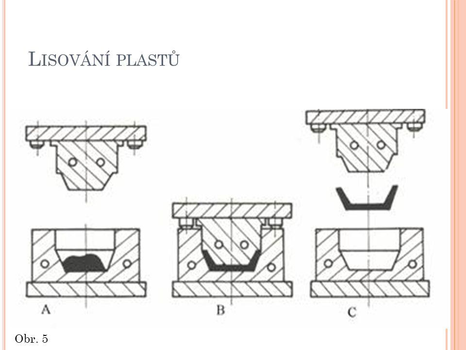 L ISOVÁNÍ PLASTŮ Obr. 5
