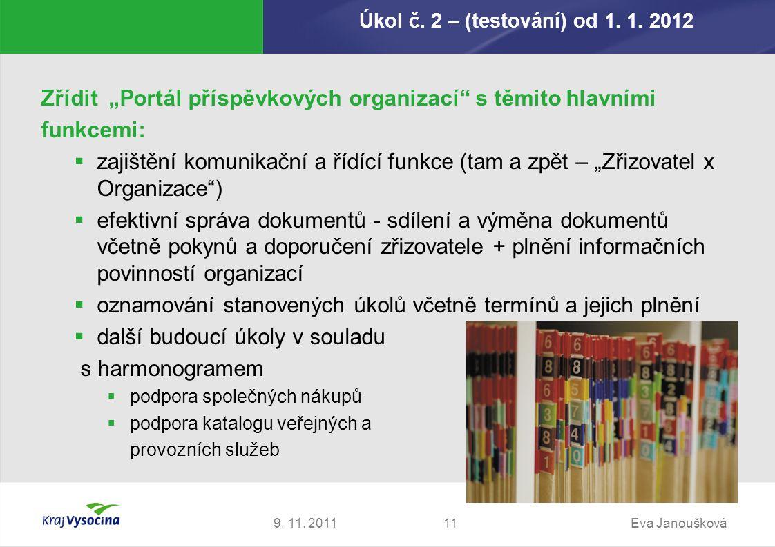 Úkol č. 2 – (testování) od 1. 1. 2012 9. 11.
