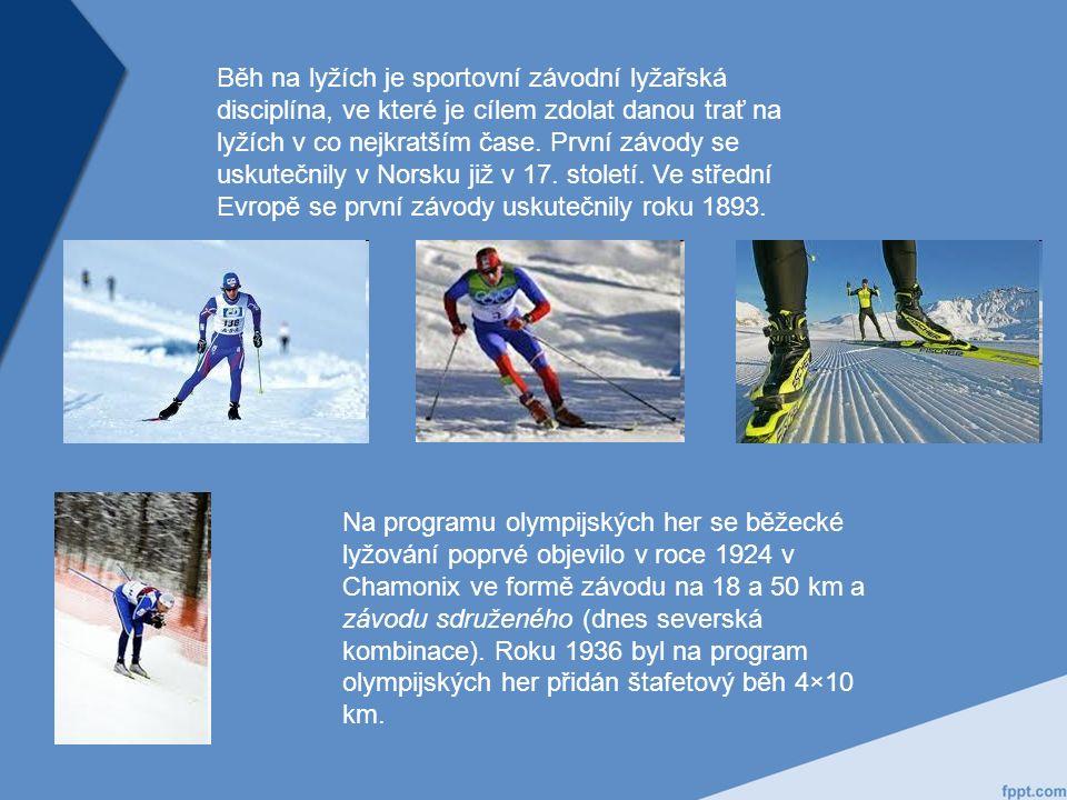 Běh na lyžích je sportovní závodní lyžařská disciplína, ve které je cílem zdolat danou trať na lyžích v co nejkratším čase.