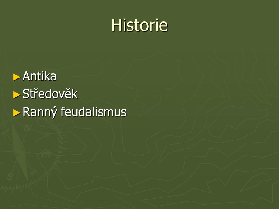 Historie ► Antika ► Středověk ► Ranný feudalismus