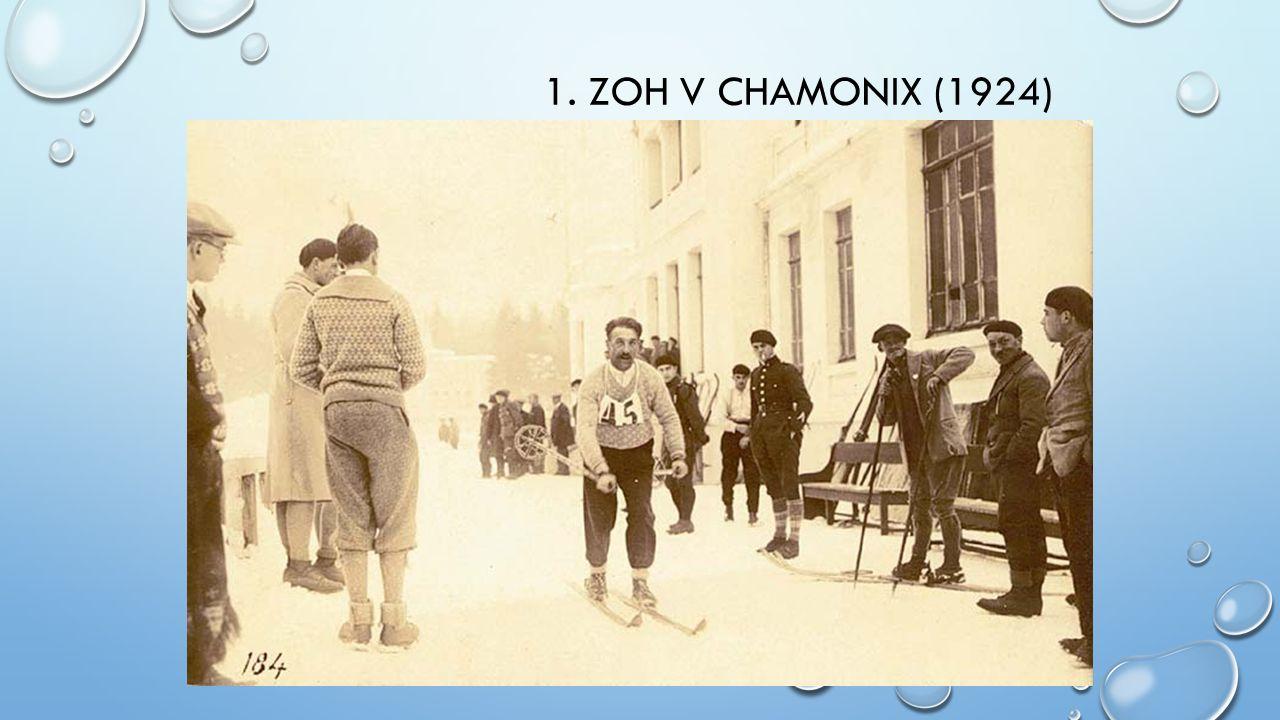1. ZOH V CHAMONIX (1924)
