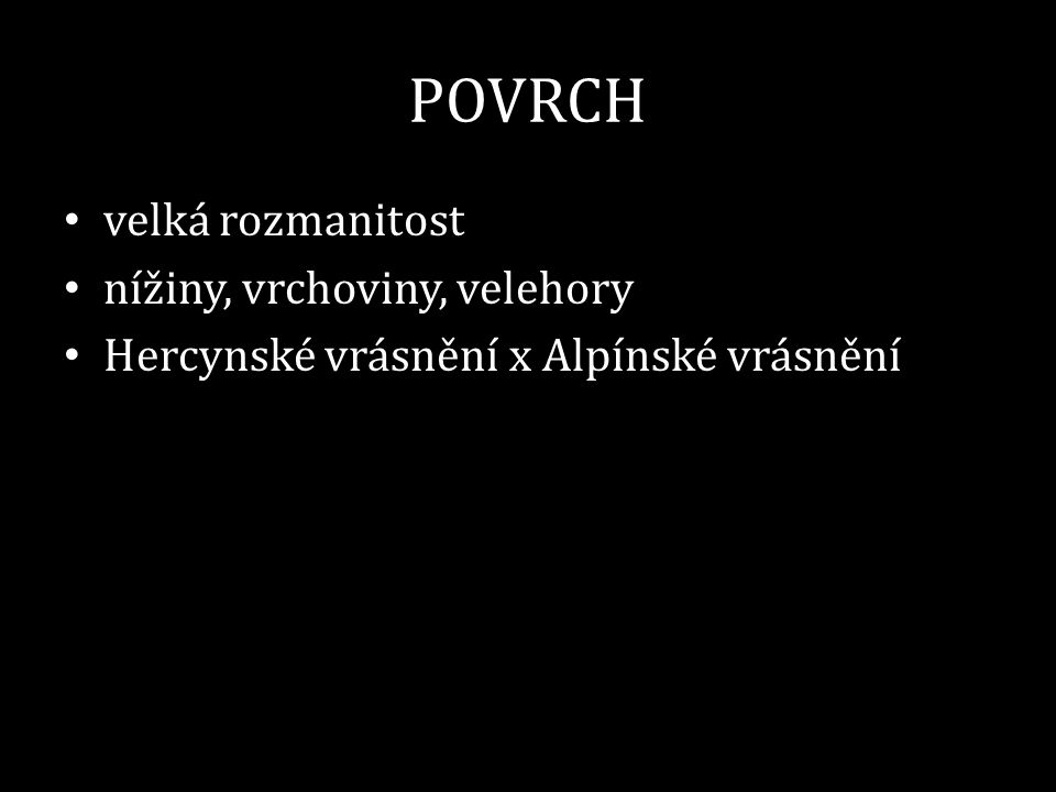 POVRCH 3