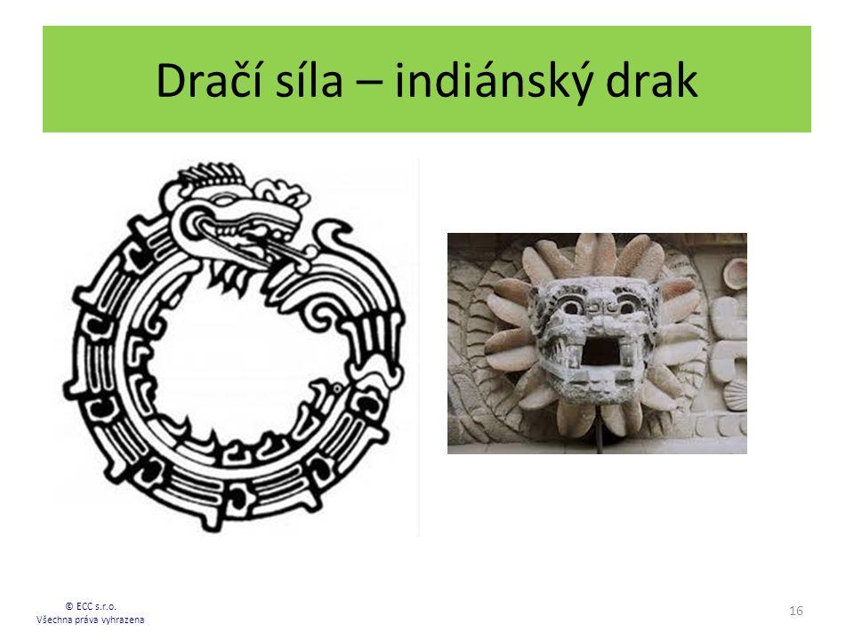 Dračí síla – indiánský drak 16 © ECC s.r.o. Všechna práva vyhrazena