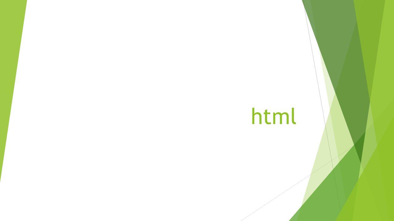 HTML  Hyper Text Markup Language - hypertextový značkovací jazyk  Normalizovaná množina značek (tagů) pro publikování obsahu webových stránek  HTML tagy - různé typy značek uzavřených do <> pro strukturování a formátování obsahu  Komunikace prohlížeče se serverem