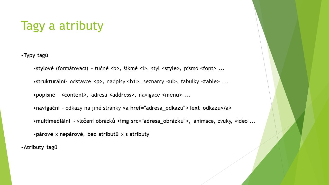 Struktura kódu