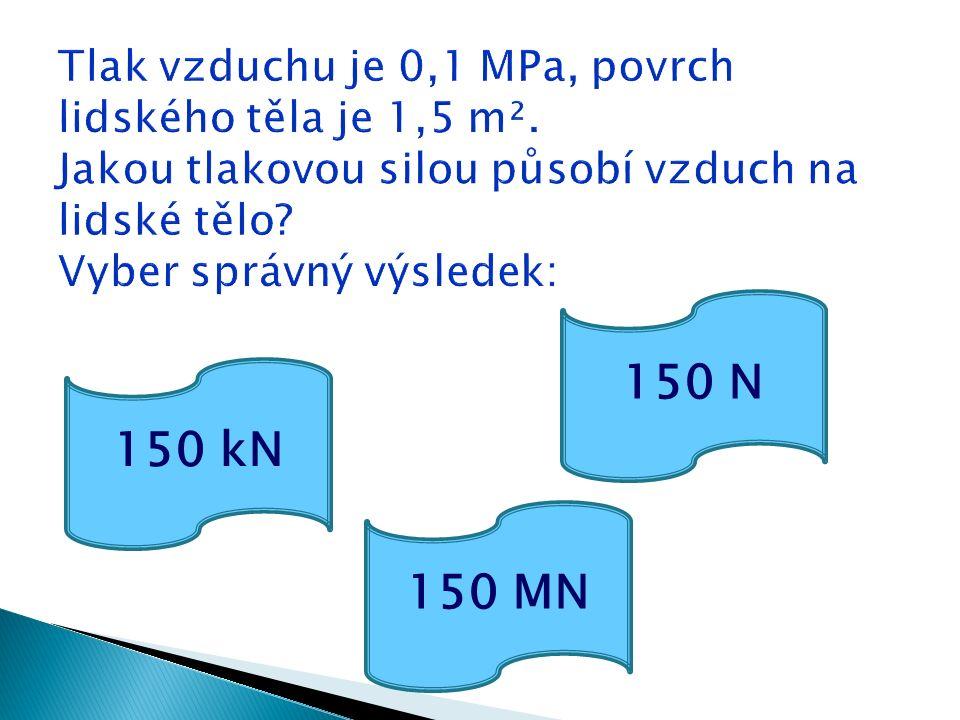 150 kN 150 MN 150 N