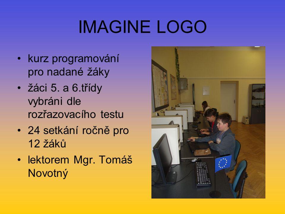 IMAGINE LOGO kurz programování pro nadané žáky žáci 5.