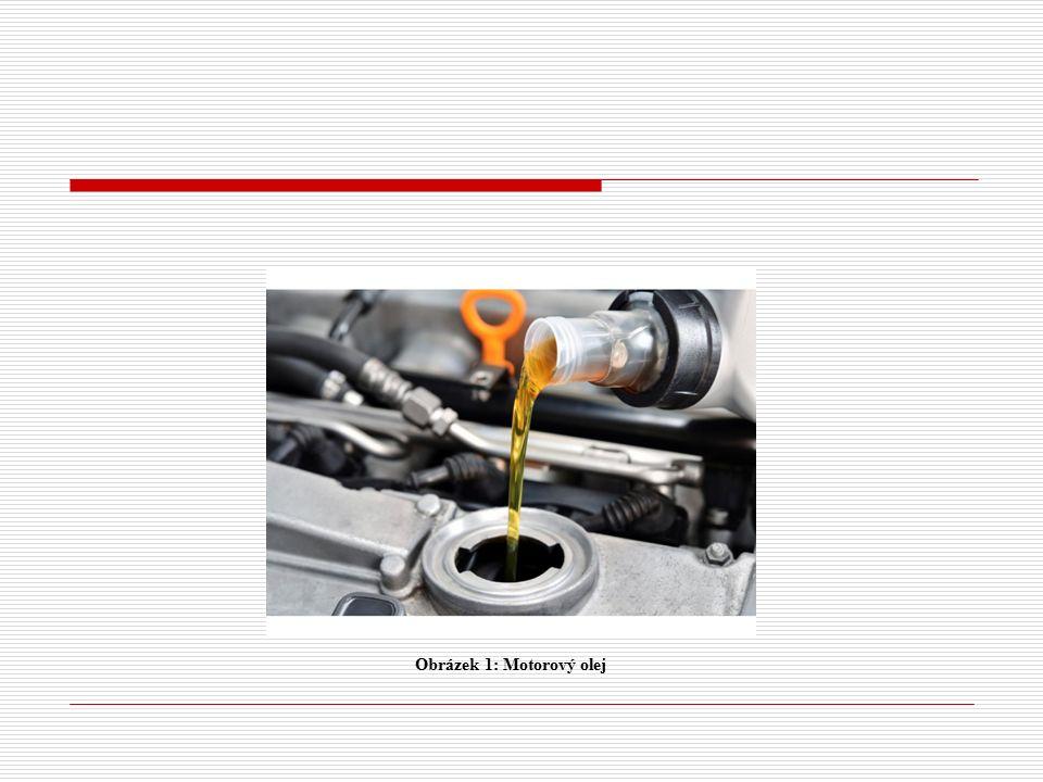 Obrázek 1: Motorový olej