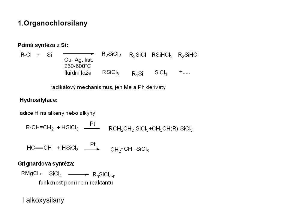 1.Organochlorsilany I alkoxysilany