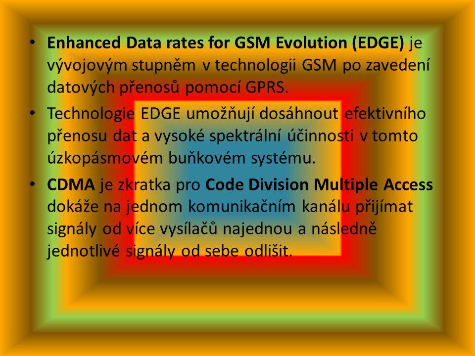 GPRS General Packet Radio Service (GPRS) je služba umožňující uživatelům mobilních telefonů GSM přenos dat a připojení k Internetu Zatímco starší služba Circuit Switched Data (CSD) využívala pro komunikaci datový okruh jako normální telefonní hovor a byla účtována podle doby připojení, GPRS založená na technologii přepojování paketů využívá volné časové sloty
