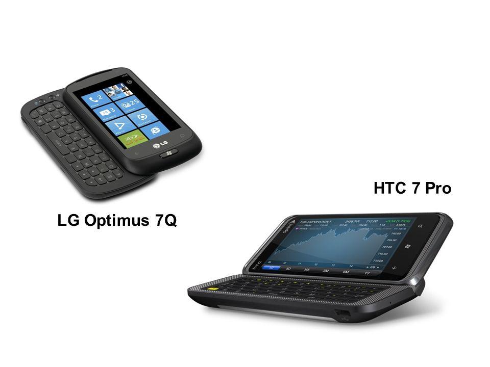 LG Optimus 7Q HTC 7 Pro