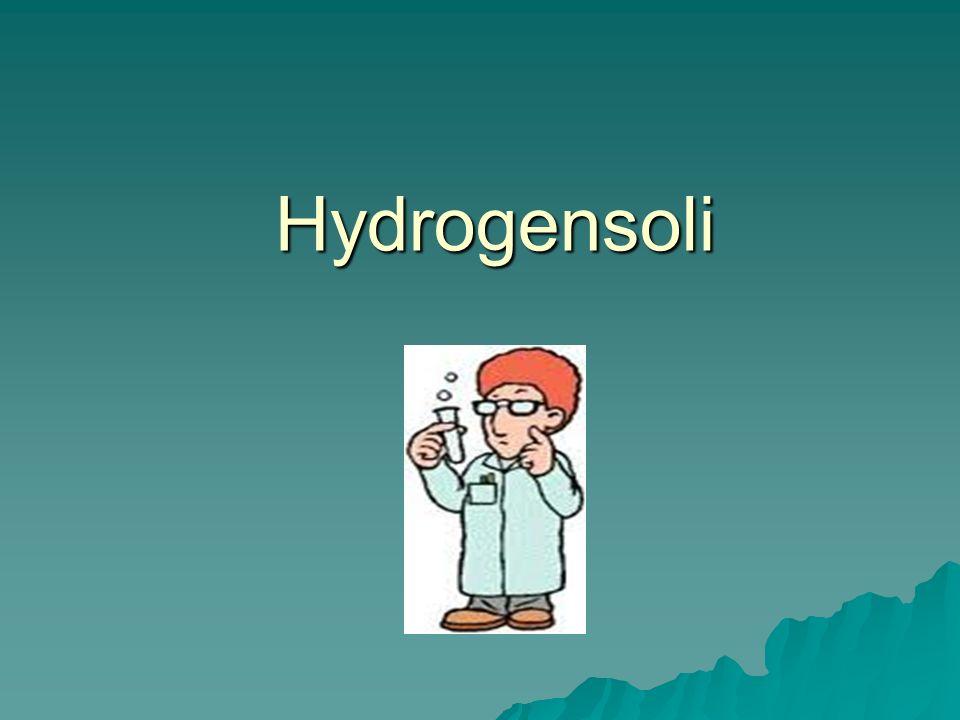 Hydrogensoli Obsahují anionty kyselin, ve kterých zůstává jeden nebo více odštěpitelných kationtů vodíku, např.