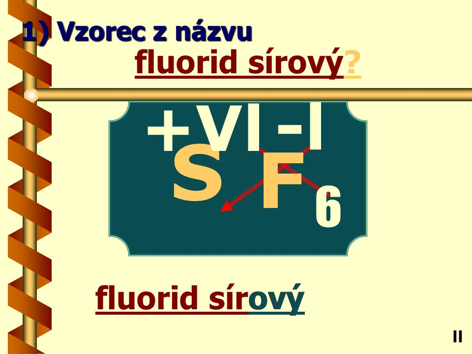 Chlorid vápenatý natý chlorid vápenatý Ca ll 1) Vzorec z názvu -l Cl 2 +ll