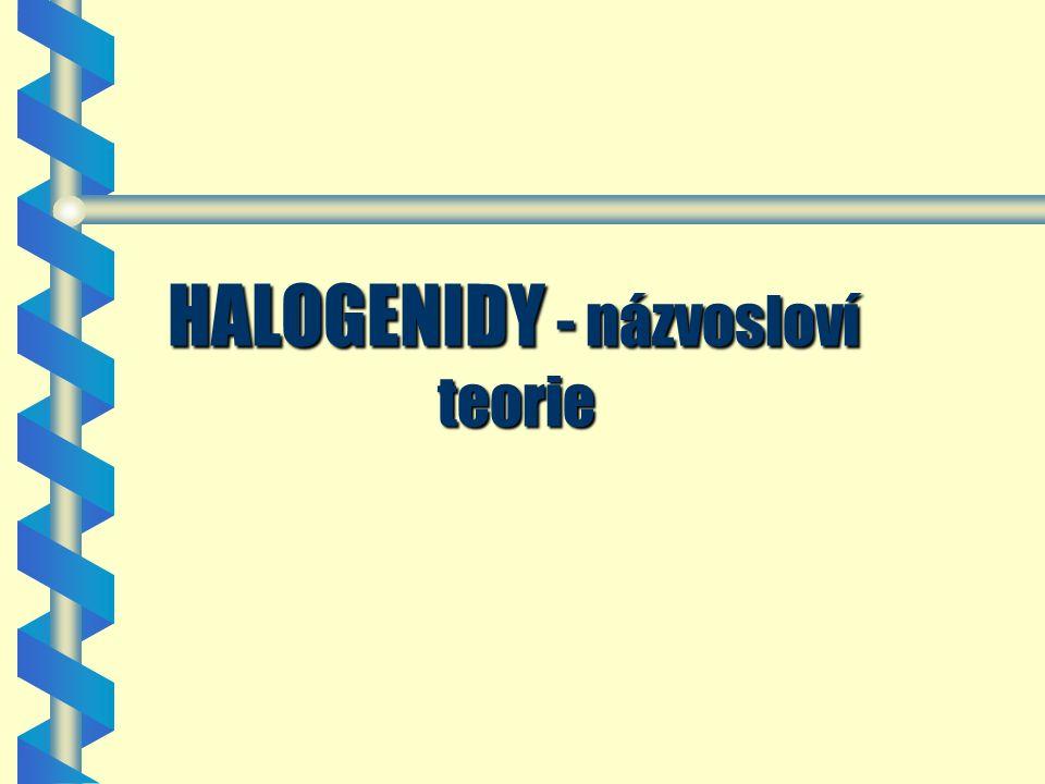 Halogeny - prvky Vll.