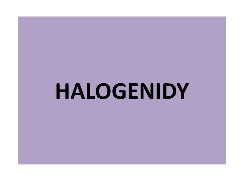 Co jsou to halogenidy.