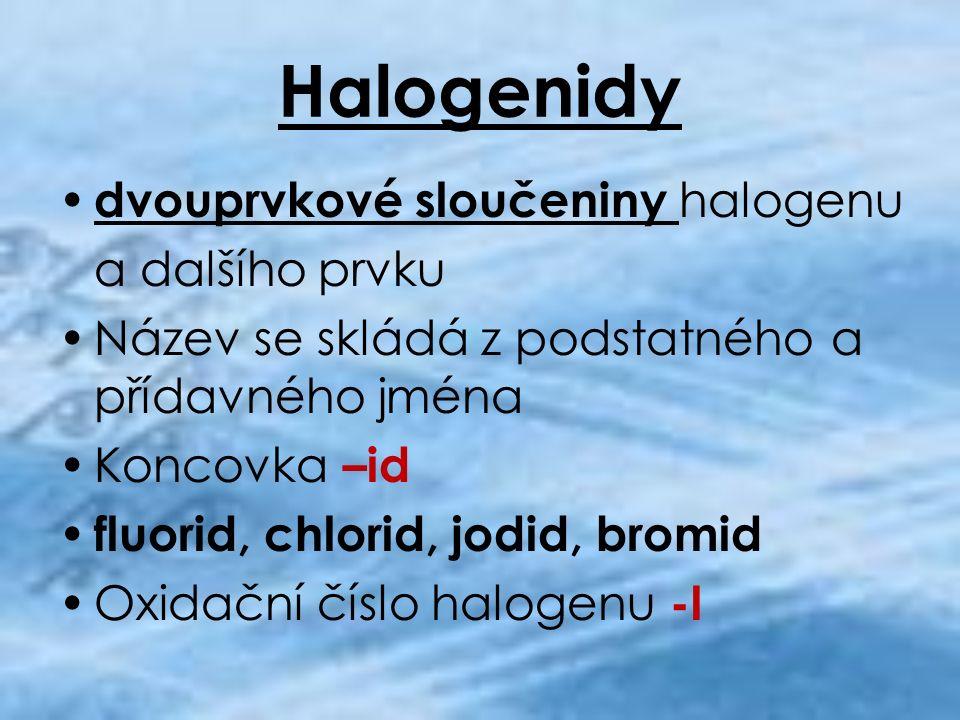 Trochu historie Halogenidy provázejí vznik fotografování již od roku 1813 Díky halogenidům vznikly filmové grotesky Díky halogenidům vznikl Hollywood a celý filmový průmysl
