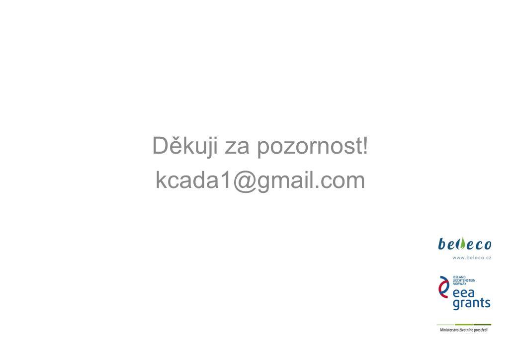 Děkuji za pozornost! kcada1@gmail.com 7