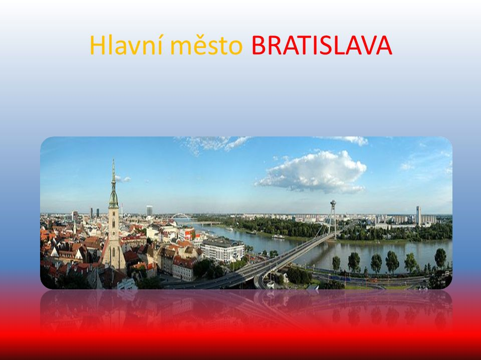 Obrázky z Bratislavy NÁRODNÍ BANKA KATEDRÁLA SVATÁHO MARTINA BRATISLAVSKÝ HRAD