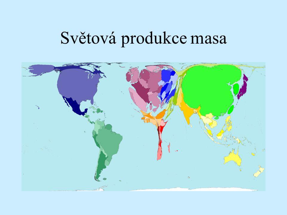 Světová produkce masa