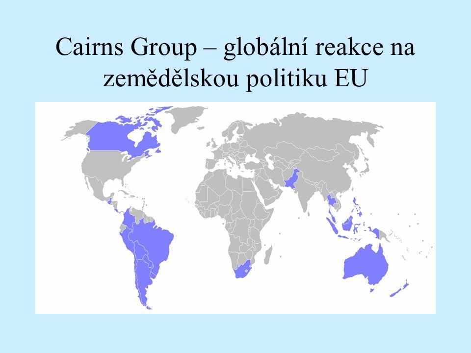 Cairns Group – globální reakce na zemědělskou politiku EU