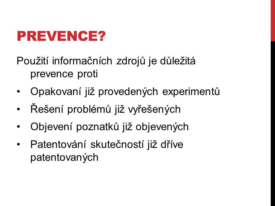 PREVENCE.