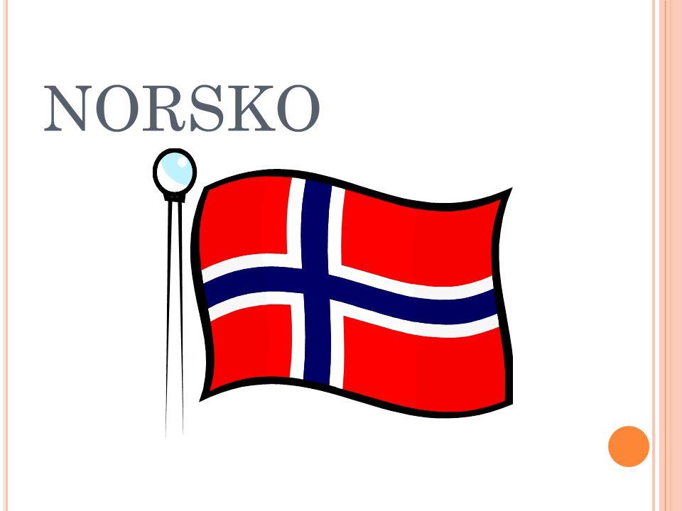 O BYVATELSTVO +N ÁBOŽENSTVÍ Obyvatelstvo- přes 93,5 % Norů, 6,5 % různé národnosti národnostní menšiny tvoří zejména: Poláci, Švédové, Němci, Dánové Většina se hlásí k státní evangelicko-luteránské církvi.