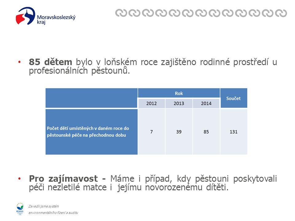Zavedli jsme systém environmentálního řízení a auditu Kasuistika aneb co to znamená mít dítě z PPPD