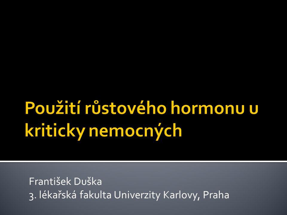 František Duška 3. lékařská fakulta Univerzity Karlovy, Praha