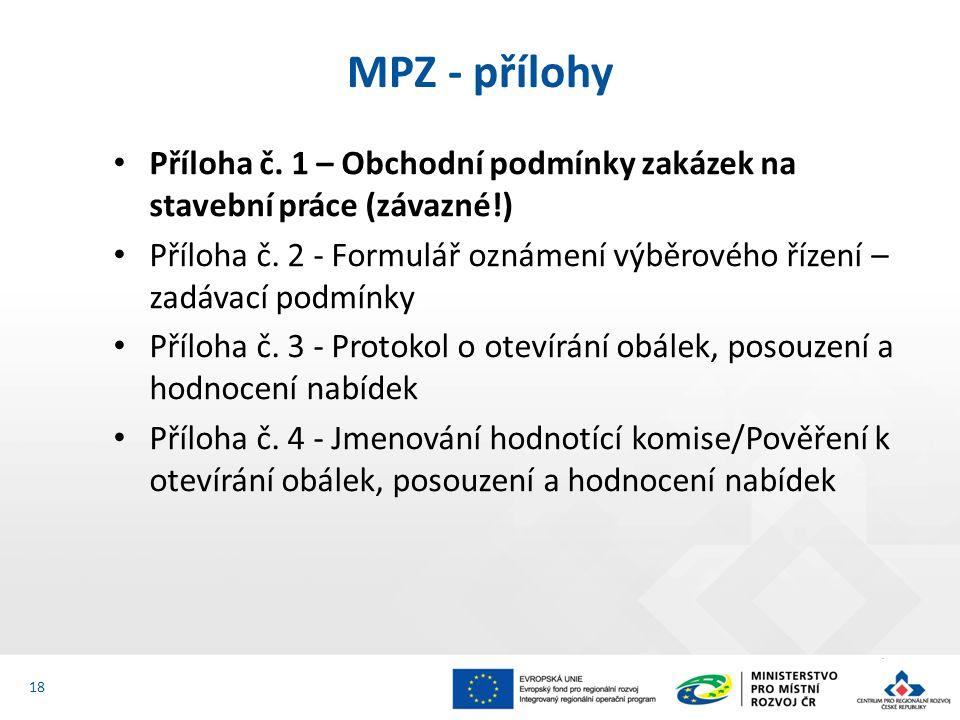 Příloha č. 1 – Obchodní podmínky zakázek na stavební práce (závazné!) Příloha č.