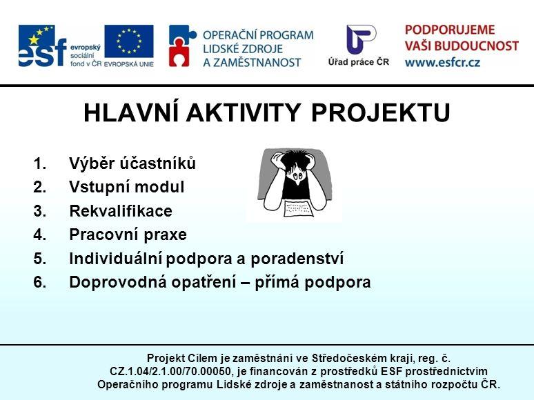 Projekt Cílem je zaměstnání ve Středočeském kraji, reg.