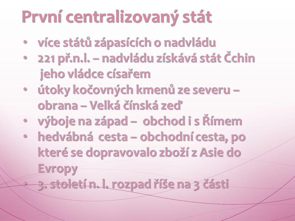 Společnost Společnost první státní útvary 21. – 14.