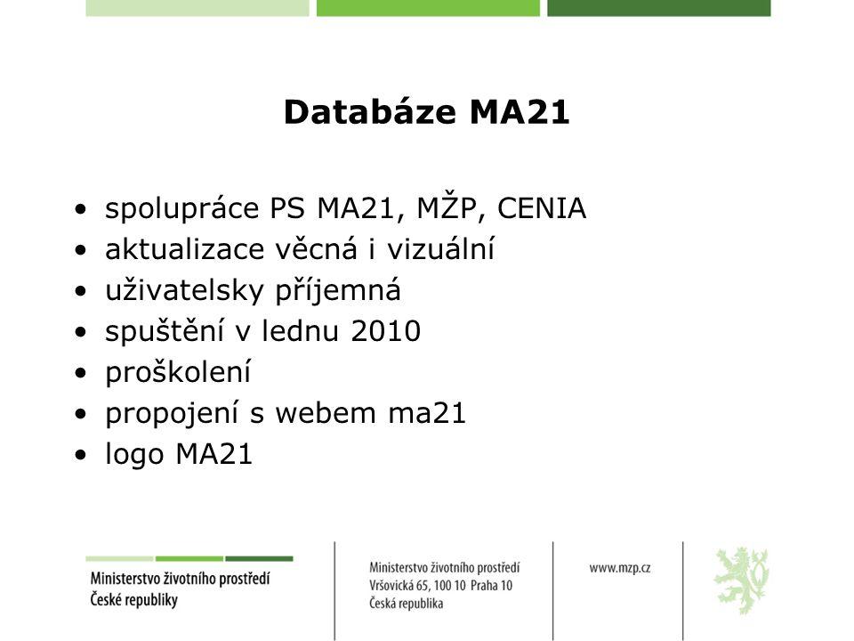 Koncepce rozvoje podpory MA21 v ČR Zadání: RVUR Zpracování: PS MA21 RVUR Financování: MŽP (OEV Odborná spolupráce: Integra consulting, s.r.o.