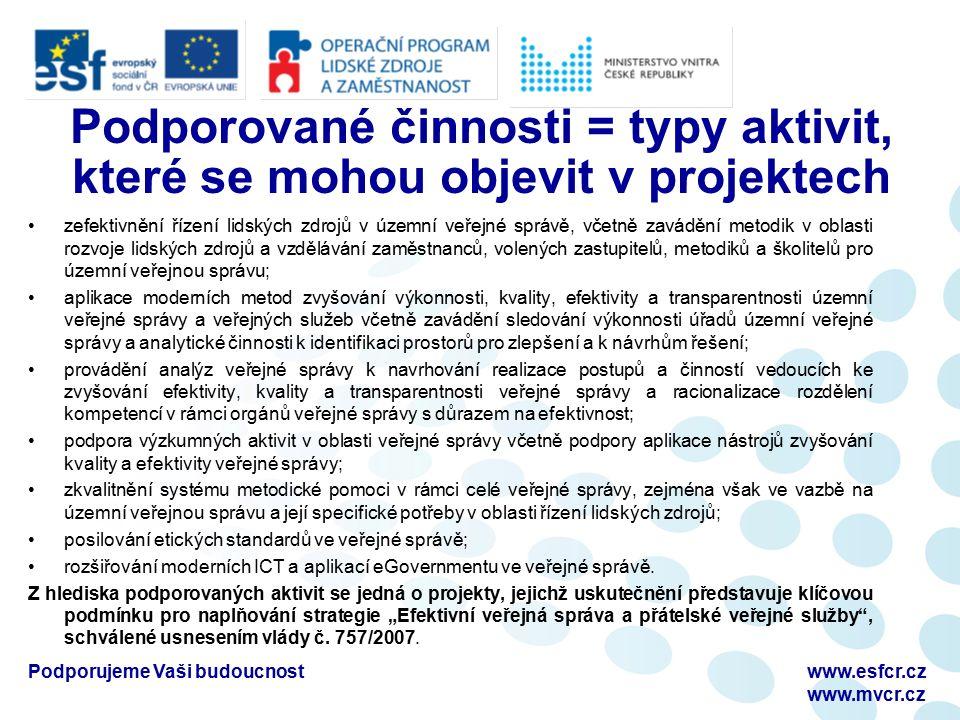 Podporujeme Vaši budoucnostwww.esfcr.cz www.mvcr.cz Formální hodnocení - nedostatky žádostí V případě nesplnění formálních kritérií je žadatel vyzván prostřednictvím zprávy zaslané z IS Monit7+ do Benefit7, aby svou žádost opravil.