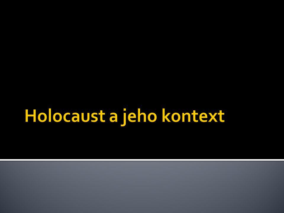  1940 – 1941: ghettoizace polských židů, jejich přesun z polských území, jež se stala součástí Říše, především do Generálního gouvernementu.