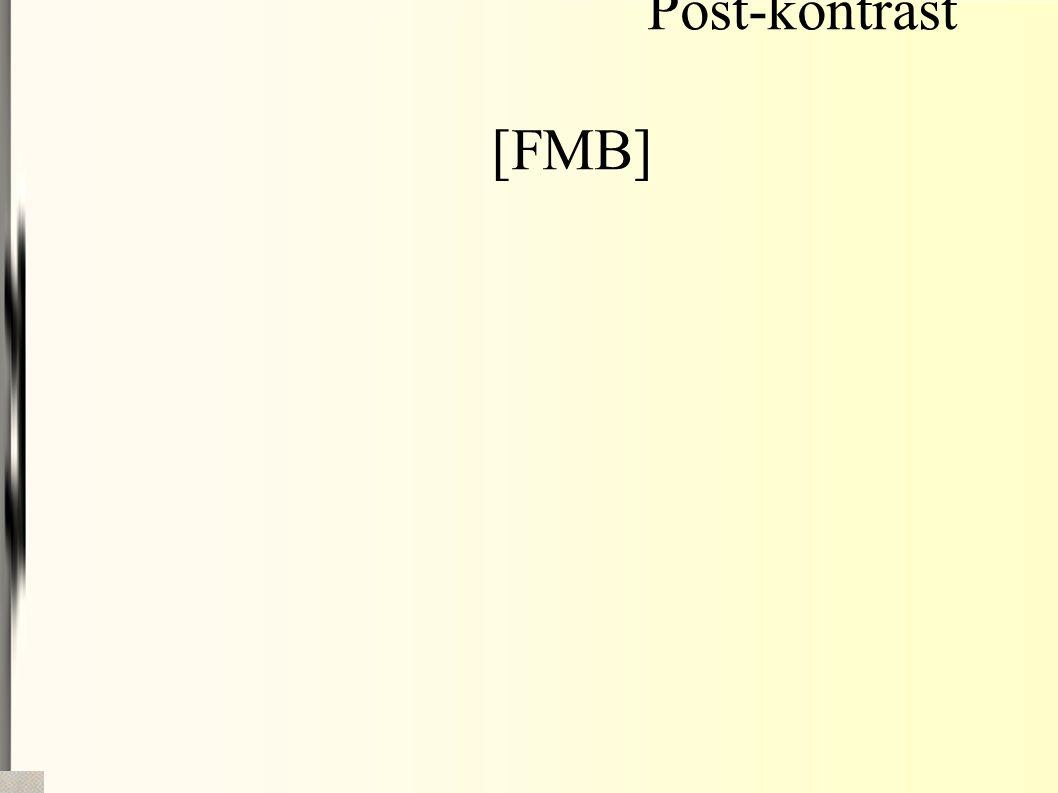Post-kontrast [FMB]